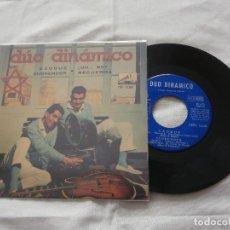 Discos de vinilo: DUO DINAMICO 7 ´EP EXODUS + 3 TEMAS (1961) COMO NUEVO *FIRMADO Y DEDICADO POR EL GRUPO*. Lote 86119804