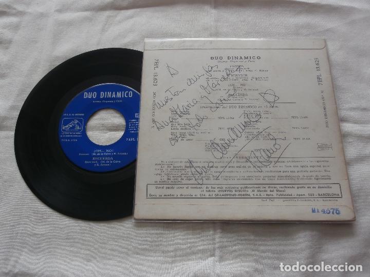 Discos de vinilo: DUO DINAMICO 7 ´EP EXODUS + 3 TEMAS (1961) COMO NUEVO *FIRMADO Y DEDICADO POR EL GRUPO* - Foto 2 - 86119804
