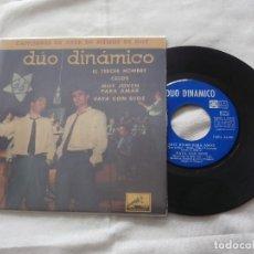 Discos de vinilo: DUO DINAMICO 7 ´EP EL TERCER HOMBRE + 3 TEMAS (1961) COMO NUEVO *FIRMADO Y DEDICADO POR EL GRUPO*. Lote 86120500