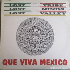 Discos de vinilo: LOST TRIBE OF THE LOST MINDS OF THE LOST VALLEY-QUE VIVA MEXICO , MAX MUSIC-NM535MA, MAX MUSIC. Lote 86120804