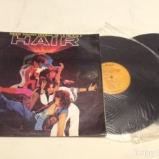 Discos de vinilo: VINILO LP -HAIR BANDA SONORA ORIGINAL DE LA PELICULA - DOBLE LP'S. Lote 86123100