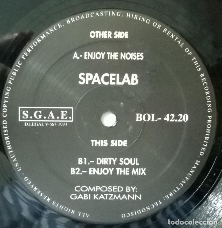 Discos de vinilo: Spacelab-Enjoy The Noises, Bol Records-BOL 42.20 - Foto 4 - 86123292