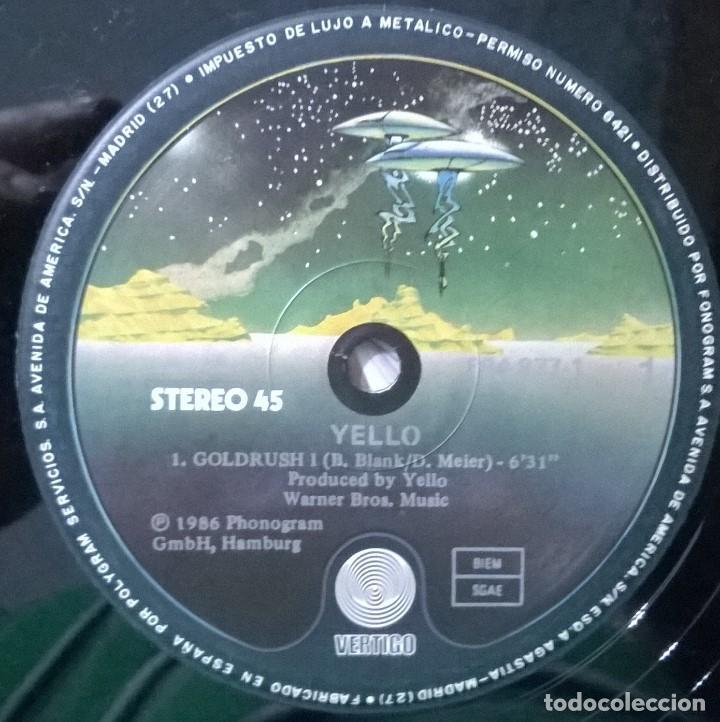 Discos de vinilo: Yello-Goldrush, Vertigo-884 877-1 - Foto 4 - 86134628