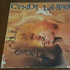 Discos de vinilo: CYNDI LAUPER. TRUE COLORS. 1986. Lote 176119190