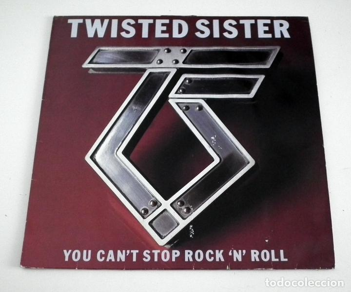 LP TWISTED SISTER - YOU CAN´T STOP ROCK ´N´ ROLL (Música - Discos - LP Vinilo - Heavy - Metal)