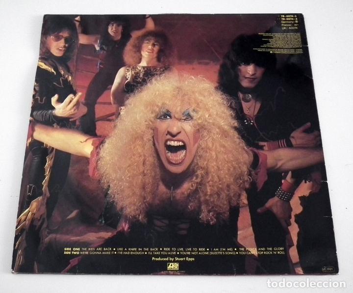 Discos de vinilo: LP TWISTED SISTER - YOU CAN´T STOP ROCK ´N´ ROLL - Foto 2 - 42315156