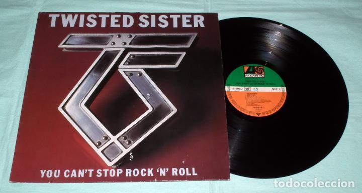 Discos de vinilo: LP TWISTED SISTER - YOU CAN´T STOP ROCK ´N´ ROLL - Foto 3 - 42315156