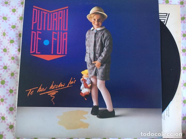 LP PUTURRU DE FUA-TE HAS HECHO PIS (Música - Discos - LP Vinilo - Solistas Españoles de los 70 a la actualidad)