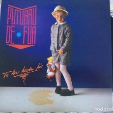Discos de vinilo: LP PUTURRU DE FUA-TE HAS HECHO PIS. Lote 86150296