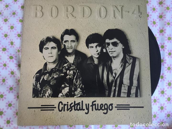 LP BORDON 4-CRISTAL Y FUEGO (Música - Discos - LP Vinilo - Solistas Españoles de los 70 a la actualidad)