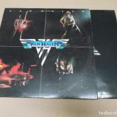 Discos de vinilo: VAN HALEN (LP) VAN HALEN 1978 AÑO 1980 – EDICION U.S.A. – ENCARTE INTERIOR. Lote 86161532