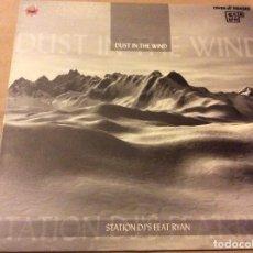 Discos de vinilo: STATION DJ'S FEAT. RYAN – DUST IN THE WIND. ADN SOUND 2002. Lote 86167608
