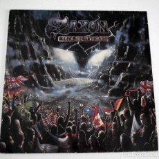 Discos de vinilo: LP SAXON - ROCK THE NATIONS. Lote 42306655