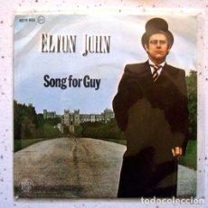 Discos de vinilo: EP. SINGLE . VINILO . ELTON JOHN . SONG FOR GUY . THE ROCKET RECORD COMPANY . 1968. Lote 86177012