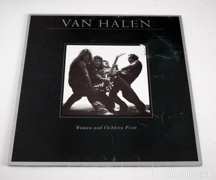 LP VAN HALEN - WOMEN AND CHILDREN FIRST (Música - Discos - LP Vinilo - Heavy - Metal)
