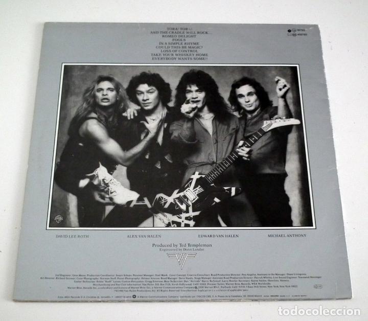 Discos de vinilo: LP VAN HALEN - WOMEN AND CHILDREN FIRST - Foto 2 - 42315343