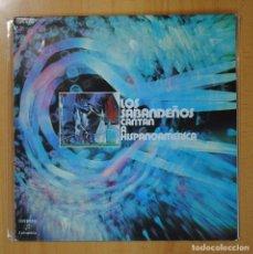 Discos de vinilo: LOS SABANDEÑOS - CANTAN A HISPANOAMERICA - LP. Lote 86190610