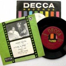 Discos de vinilo: PEGGY LEE - JOHNNY GUITAR / AUTUMN IN ROME - SINGLE DECCA 1958 JAPAN (EDICIÓN JAPONESA) BPY. Lote 86204240