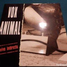 Discos de vinilo: VOX ANIMAL - EN VIVO INDIRECTO - LP 12 TEMAS - CAPOTE 1992 (LA BANDA TRAPERA DEL RIO). Lote 86205116