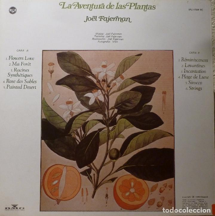 Discos de vinilo: JOËL FAJERMAN - LA AVENTURA DE LA PLANTAS - Foto 2 - 86207368