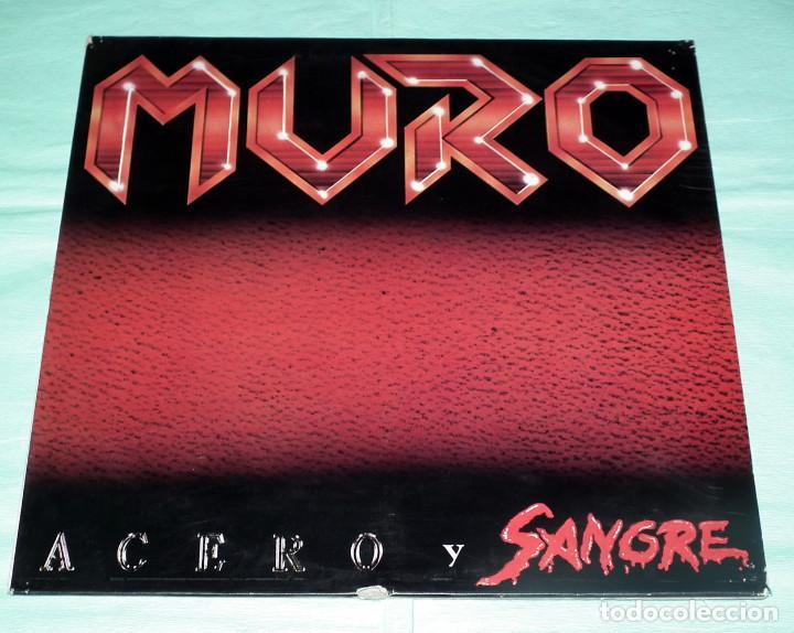 LP MURO - ACERO Y SANGRE (Música - Discos - LP Vinilo - Heavy - Metal)