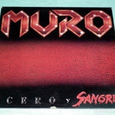Discos de vinilo: LP MURO - ACERO Y SANGRE. Lote 86211548