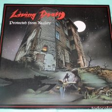 Discos de vinilo: LP LIVING DEATH - PROTECTED FROM REALITY. Lote 86211884