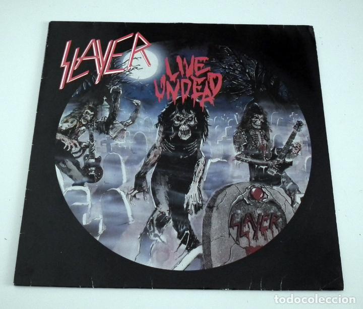 SLAYER - LIVE UNDEAD LP (Música - Discos - LP Vinilo - Heavy - Metal)