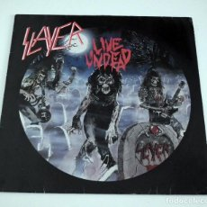 Discos de vinilo: SLAYER - LIVE UNDEAD LP. Lote 42306572