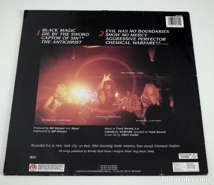 Discos de vinilo: SLAYER - LIVE UNDEAD LP - Foto 2 - 42306572