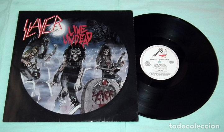 Discos de vinilo: SLAYER - LIVE UNDEAD LP - Foto 3 - 42306572