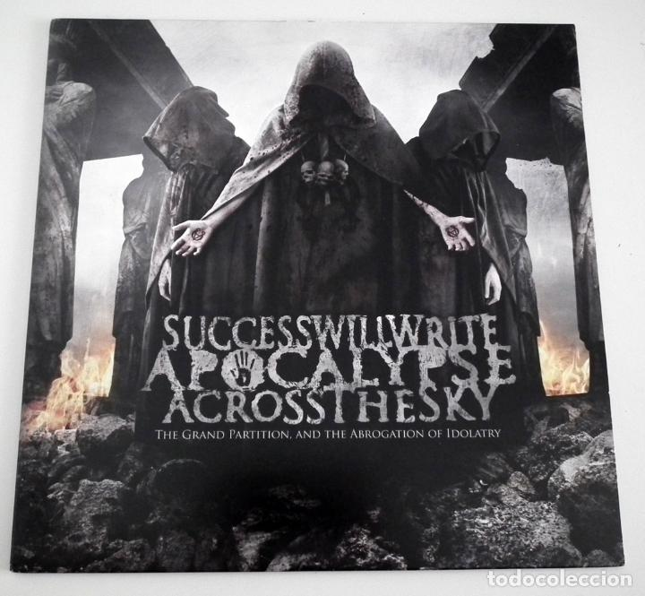 LP SUCCESS WILL WRITE THE APOCALYPSE ACROSS THE SKY - THE GRAND PARTITION AND THE ... (Música - Discos - LP Vinilo - Heavy - Metal)