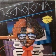Discos de vinilo: 5ª ESTACION - TECNOFONIA SUPERSINGLE. Lote 86215708