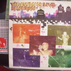 Discos de vinilo: YELLOWMAN- LIVE IN LONDON.. Lote 86219808