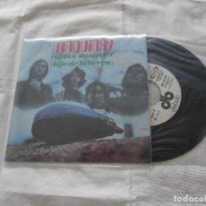 Discos de vinilo: MAQUINA 7´SG EARTH´S DAUGHTER (HIJA DE LA TIERRA) + (1969) *PROGRESIVO ESPAÑOL 70´S. Lote 163632109