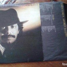 Discos de vinilo: CHICK COREA . SECRET AGENT LP. Lote 86225860
