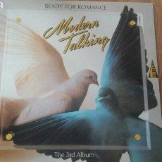 Discos de vinilo: MODERN TALKING. READY FOR ROMANCE. Lote 86227144