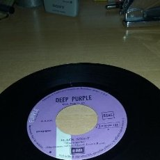 Discos de vinilo: SINGLE DEEP PURPLE. WOMAN FROM TOKYO / BLACK NIGHT. EMI 1972. SIN CARATULA. Lote 86228612