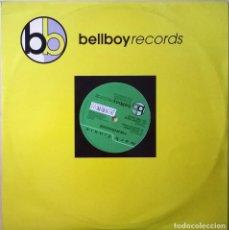 Discos de vinilo: MARK FINNIE-FOURTRACKER, BELLBOY RECORDS-BL025, UK. Lote 86232320