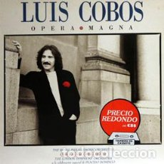Discos de vinilo: LUIS COBOS / OPERA MAGNA (LP) 1989 (CBS). Lote 86235476