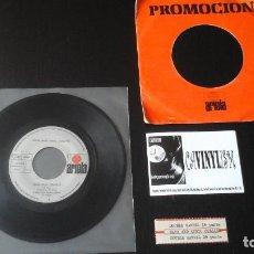 Discos de vinilo: DAVE AND ANSIL COLLINS ?– DOUBLE BARREL SINGLE ARIOLA ?– 14.928-A PROVIENE DE SINFONOLA. Lote 86235688