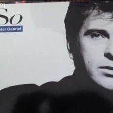 Discos de vinilo: PETER GABRIEL SO LP SPAIN INSERTO. Lote 86236572