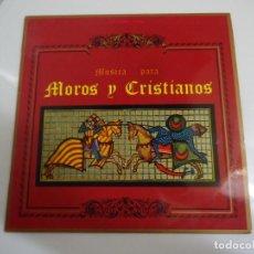 Discos de vinilo: DISCO DE VINILO MUSICA PARA MOROS Y CRISTIANOS UNION ARTISTICA MUSICAL DE ONTENIENTE DR JOSÉ MARIA F. Lote 86238536