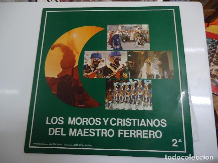 DISCO DE VINILO LOS MOROS Y CRISTIANOS DEL MAESTRO FERRERO 1984 (Música - Discos - LP Vinilo - Orquestas)