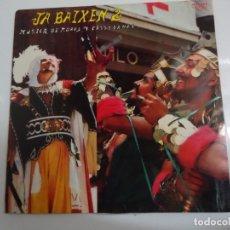 Discos de vinilo: DISCO DE VINILO JA BAIXEN 2 MUSICA DE MOROS Y CRISTIANOS BANDA UNION MUSICAL DE ALCOY 1981. Lote 86239080
