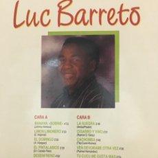 Discos de vinilo: LUC BARRETO-BANANA BOBINE-1990-NUEVO. Lote 86240062