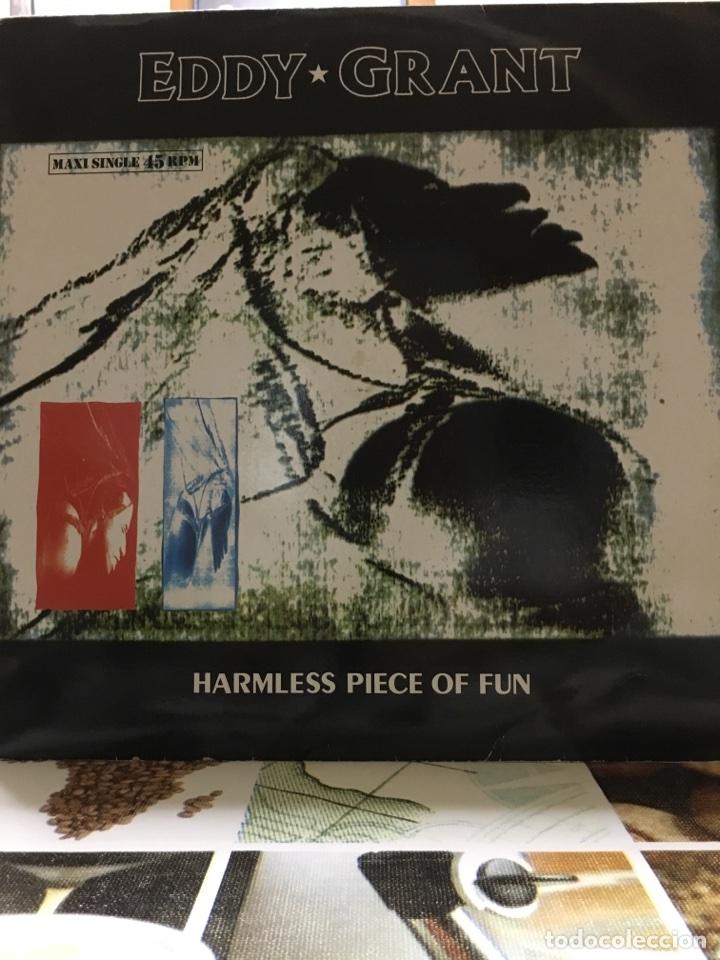EDDY GRANT-HARMLESS PIECE OF FUN-MAXI-1988-NUEVO (Música - Discos de Vinilo - Maxi Singles - Reggae - Ska)
