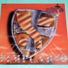 Discos de vinilo: LP SANTA - TEMPLARIO. Lote 86252092