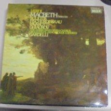 Discos de vinilo: LP. VERDI. MACBETH SELECCION. 1975. DECCA. Lote 86254244