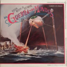 Disques de vinyle: LA GUERRA DE LOS MUNDOS. PHIL LYNOTT. R. BURTON. DOBLE LP ESPAÑA VERSIÓN EN INGLÉS CON LIBRETO 1978. Lote 86256552
